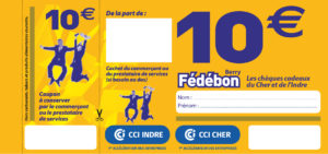 Cheque 10euro Fedebon